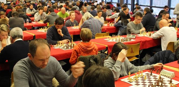Un week-end Blitz & Rapide de référence en France et en Europe : 372 participants l'année dernière dont 18 grand-maîtres et 26 maîtres !