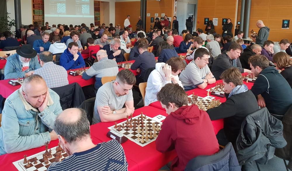 Un tournoi d'échecs de référence en France et en Europe !
